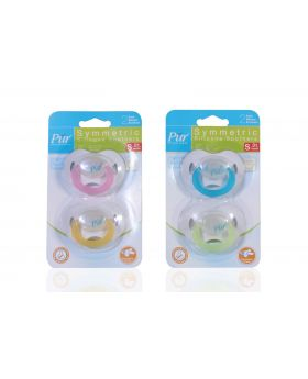 Pur Night Time Soothers 2pc (4016)