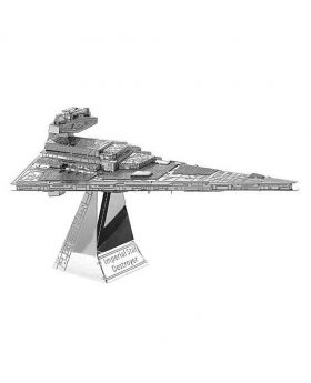 Imperial Star Destroyer Puzzle - Silver