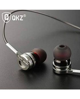 QKZ DM9 Zinc Alloy HiFi Metal Earphone With Mic