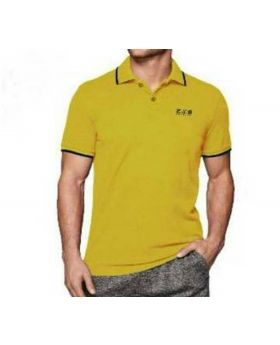 Mens Color Cotton Polo Shirt