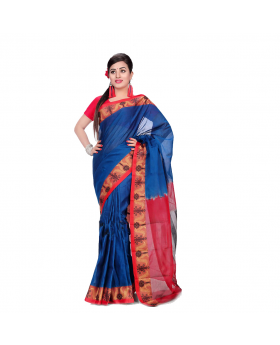 Maslice Multi color Cotton Saree