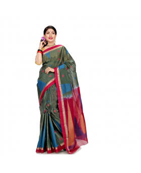 Maslice Cotton colorful Saree