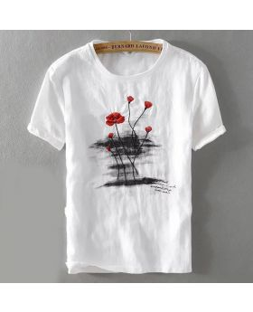 White Unique & Fashionable T-shirt for Men