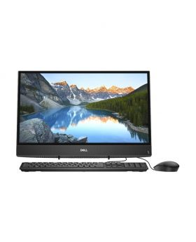 Dell Inspiron AIO 22 3280 8th Gen Intel Core i3 8145U 21.5 Inch FHD (1920x1080) Display, Win 10, USB KB and Mou, Black All in One PC