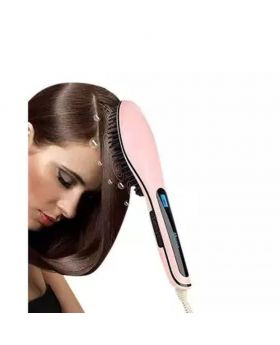Electric LED Hair Brush – pink