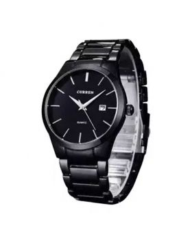 8106 - Stainless Steel Analog Watches for Men - Silver