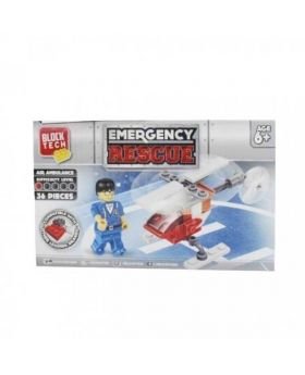 Block Tech Emergency Rescue Toy