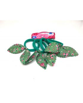 4pcs Set Rubber Band for Baby - Green