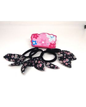 4pcs Set Rubber Band for Baby - Black