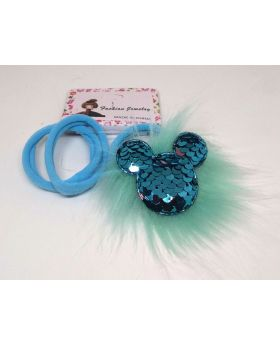 Micky Mouse Rubber Band for Baby - Blue