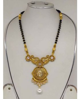 Stone And Pearl Work MangalSutra