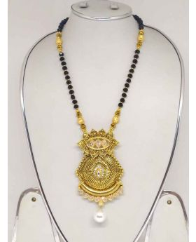 GoldPlated Mangalsutra Neck Piece