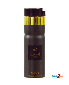 Rave - Body Spray - 200ML - Luxuré (M)