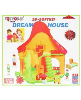3D Softkit Dream House - Multi Color