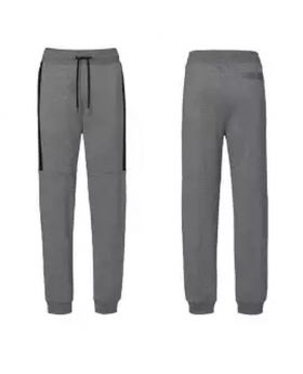 Ash and Black Trouser for Men