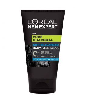 L'Oreal Men Expert Pure Charcoal Purifying Daily Face Wash 100ml (UK)