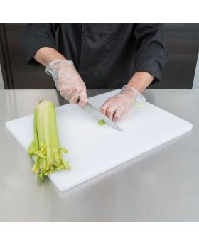 Poly Cutting Board - White
