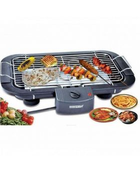 Electric BBQ Grill Machine - Black