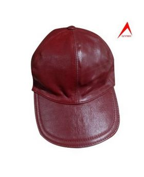 Leather Fashionable Cap-ANX07