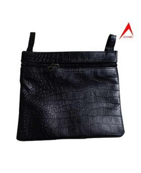 Ladies mobile Side Bag- Black-ANX09