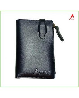 Semi Long Wallet Chocolate-ANX23: