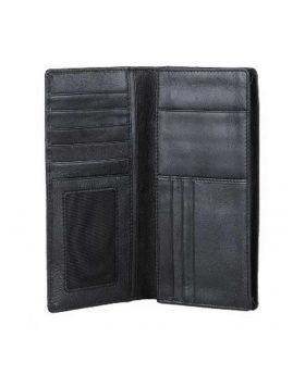 Semi Long Wallet Black -ANX24