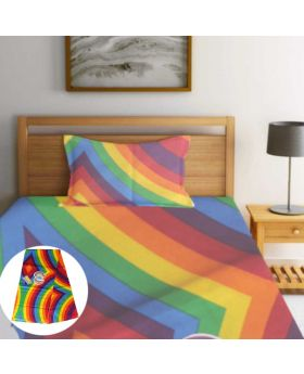 China 100% Cotton Single Bedsheet-ASHA040