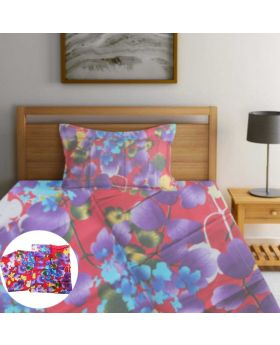 China 100% Cotton Single Bedsheet-ASHA043