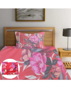 2L Cloth Semi double 100% Cotton Bedsheet-ASHA044