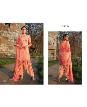 Printed Organdi Printed With Embroidery Salwar Kameez