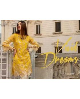 Azure Yellow Formal Women Kurti