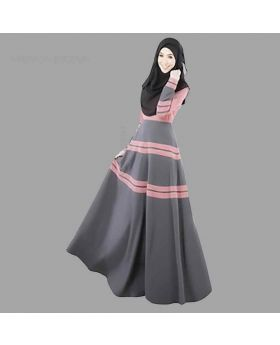 Navy Color Abaya gown B 035
