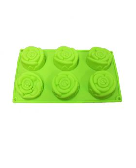 Sunflower shape silicone cake mold 1pcs