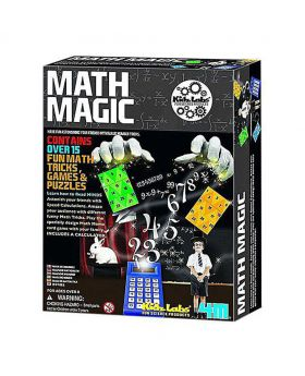 Maths Tricks Games and Puzzles - Multicolor