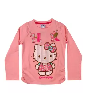 BabyPink Cotton Full Sleeve Sweater for Girls