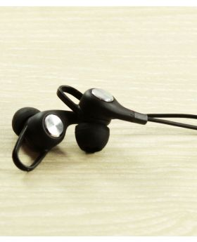 Vorson VIM-208 Stereo Earphone - Black