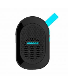 Jabees beatBOX MINI Portable Bluetooth Wireless Splashproof Speaker with In-Built Mic - Blue