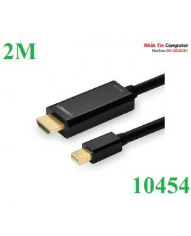 Mini dp male to hdmi cable black / 2M