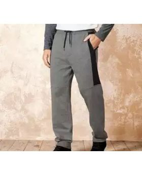 Ash and Black Comfortable trouser