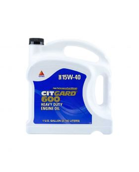 Citgo Citgard 600 Synthetic Blend Engine Oil SAE 15W-40