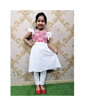 Girls new cotton frock