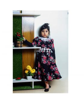 Girls new winter party frock