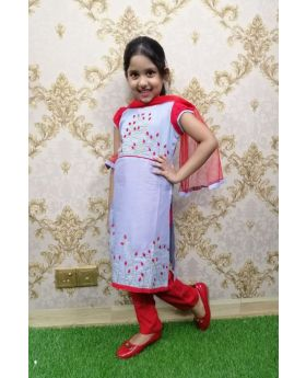 Girls new cotton 3 pcs set