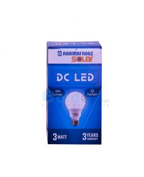 DC LED Bulb Light 3W