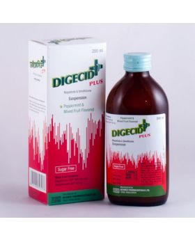 Digecid Plus Oral Suspension 200ml Bottle