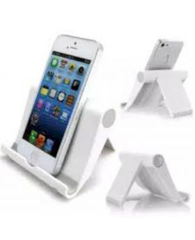 Stents Stand Mobile Phone Holder - White