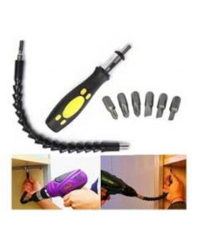 Snake Bit Drill Universal Extender Set - Yellow