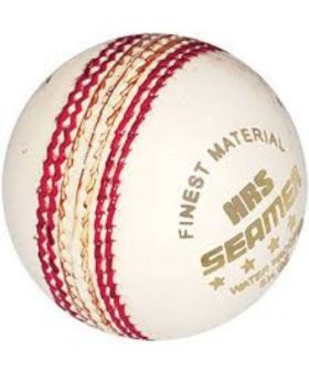 Cricket Ball - White and red