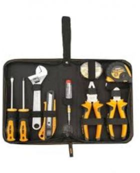 9PCS Hand Tools Set - Silver