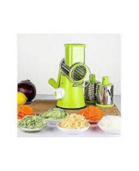 Round Mandoline Slicer Vegetable Cutter - Lime